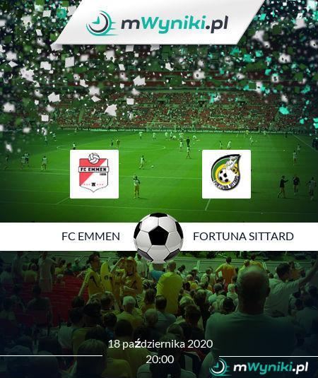 FC Emmen - Fortuna Sittard