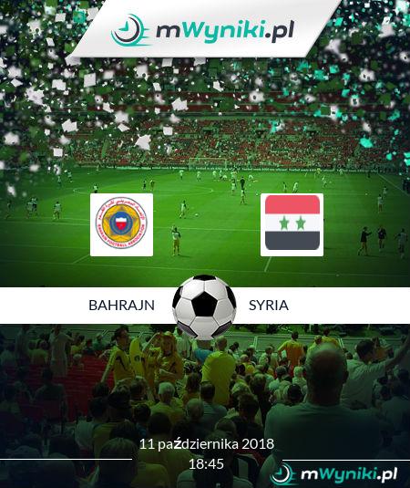 Bahrajn - Syria