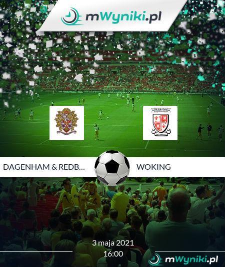 Dagenham & Redbridge - Woking