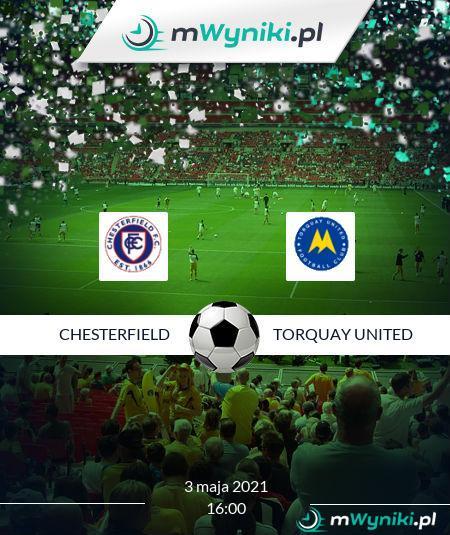 Chesterfield - Torquay United