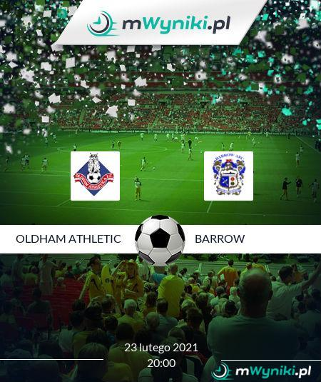 Oldham Athletic - Barrow