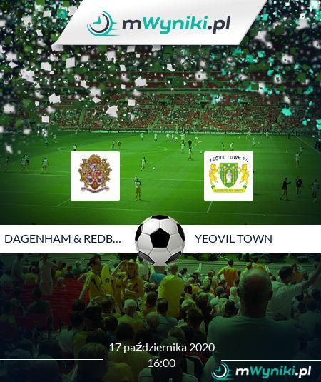 Dagenham & Redbridge - Yeovil Town