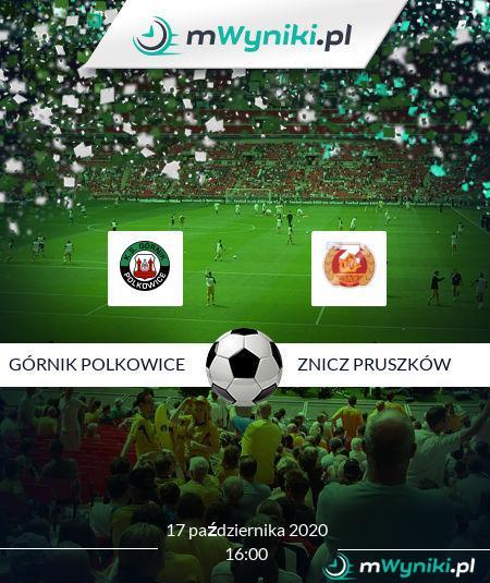 Górnik Polkowice - Znicz Pruszków