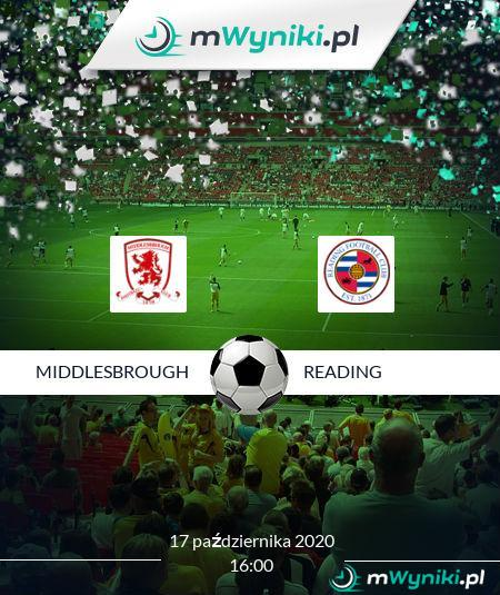 Middlesbrough - Reading