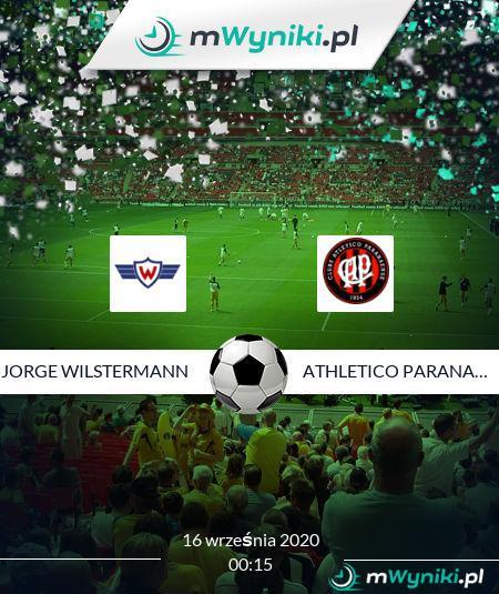 Jorge Wilstermann - Athletico Paranaense