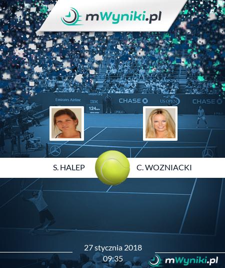 S. Halep - C. Wozniacki