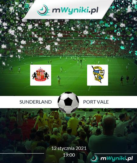 Sunderland - Port Vale