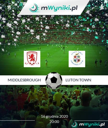 Middlesbrough - Luton Town