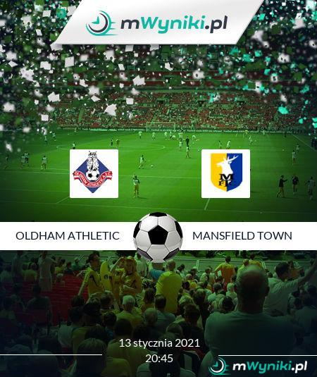 Oldham Athletic - Mansfield Town