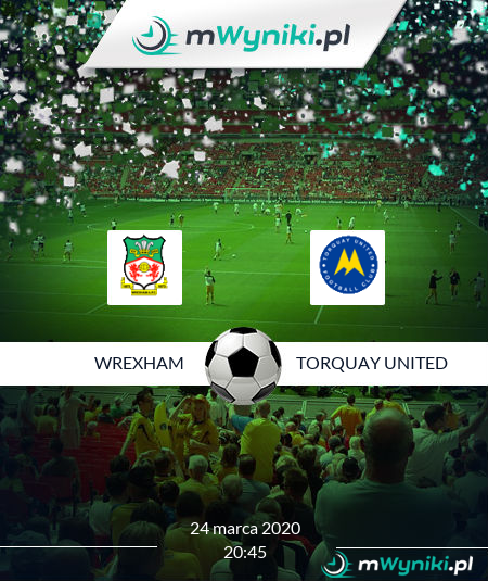 Wrexham - Torquay United