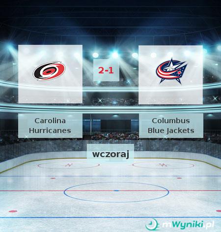 Carolina Hurricanes - Columbus Blue Jackets