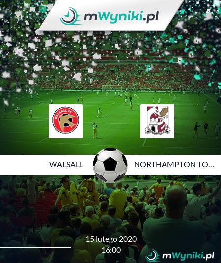 Walsall - Northampton Town