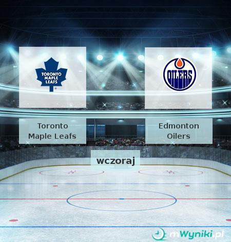 Toronto Maple Leafs - Edmonton Oilers