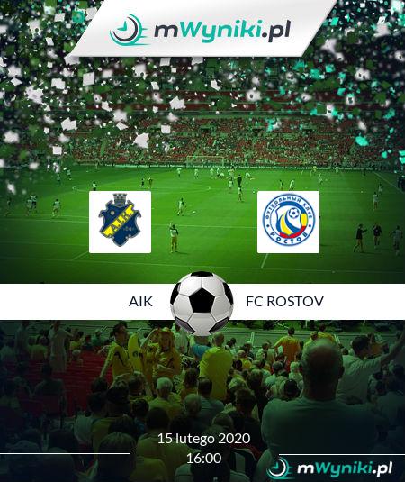 AIK - FC Rostov