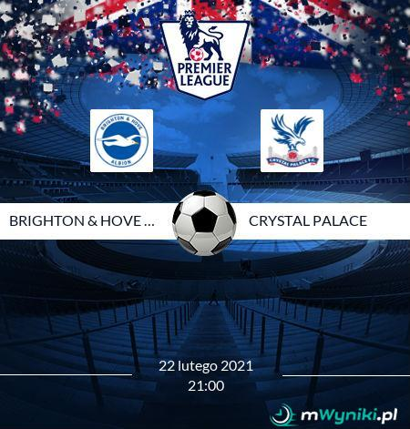 Brighton & Hove Albion - Crystal Palace