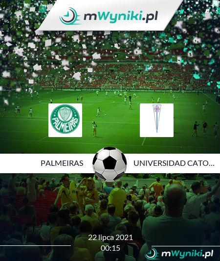 Palmeiras - Universidad Catolica