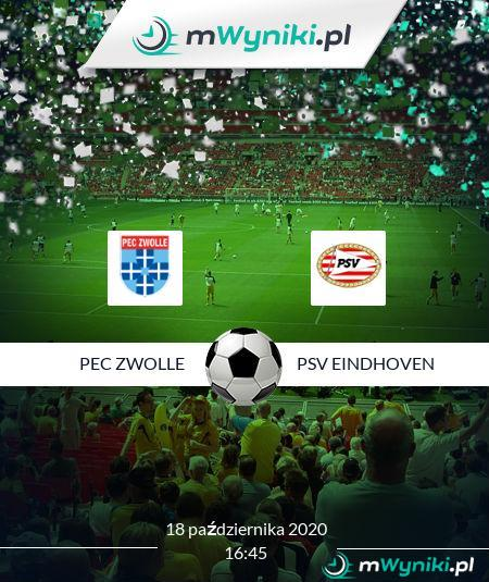 PEC Zwolle - PSV Eindhoven