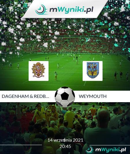 Dagenham & Redbridge - Weymouth