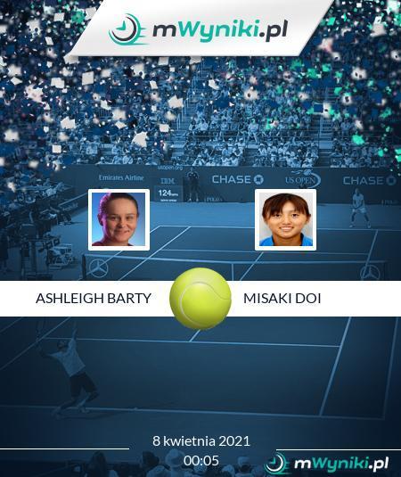 Ashleigh Barty - Misaki Doi