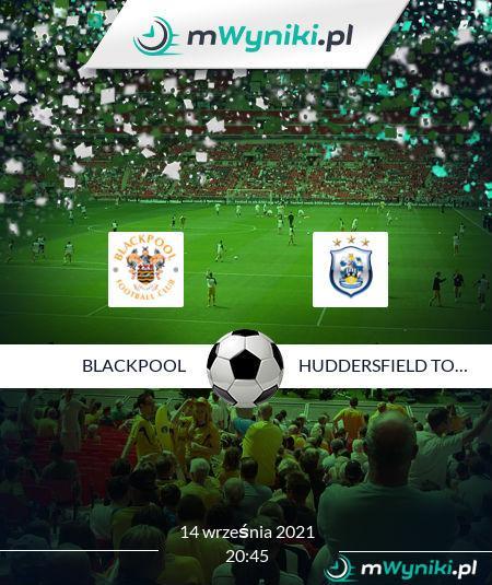 Blackpool - Huddersfield Town