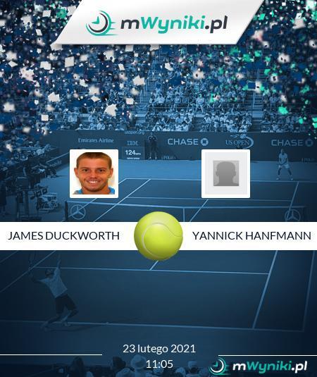 James Duckworth - Yannick Hanfmann