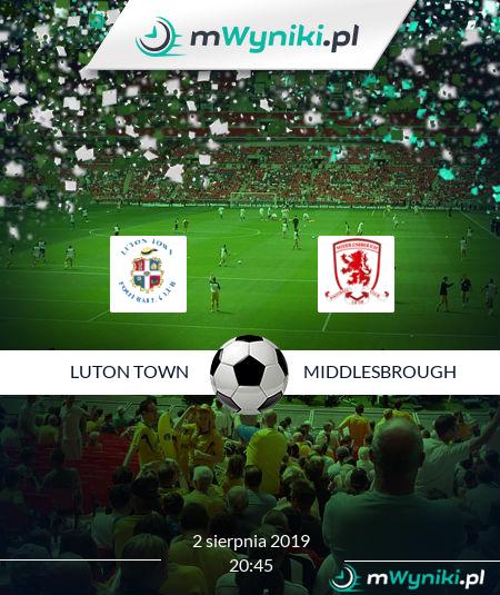 Luton Town - Middlesbrough