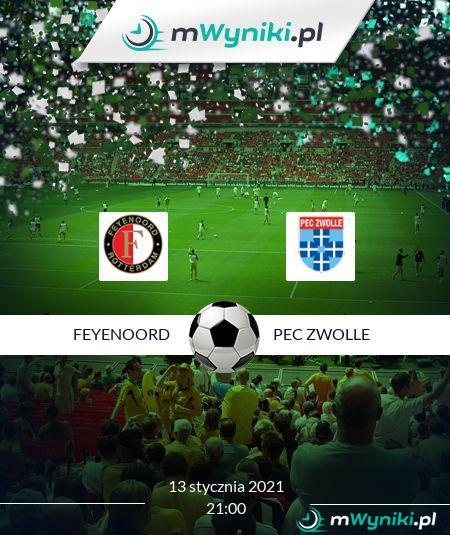 Feyenoord - PEC Zwolle