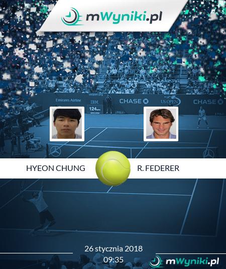 Hyeon Chung - R. Federer