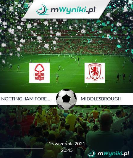 Nottingham Forest - Middlesbrough