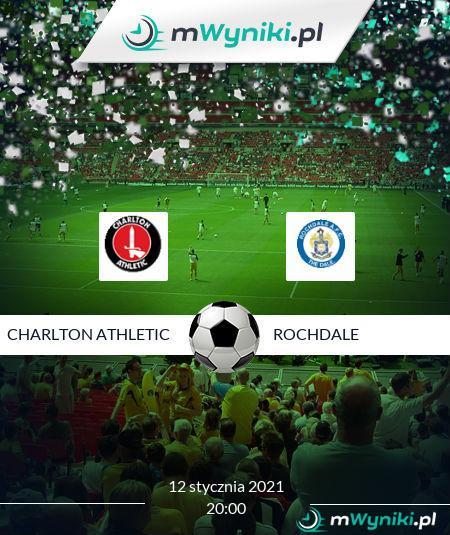 Charlton Athletic - Rochdale