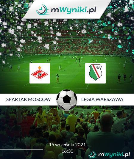 Spartak Moscow - Legia Warszawa
