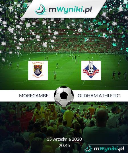 Morecambe - Oldham Athletic