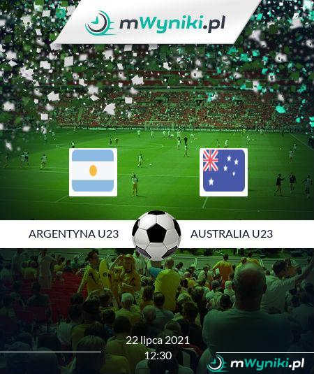 Argentyna U23 - Australia U23
