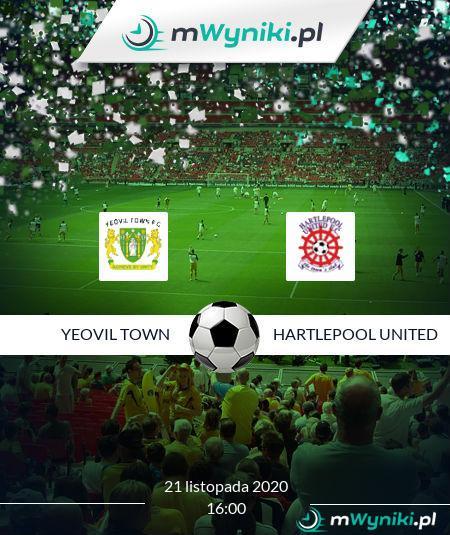 Yeovil Town - Hartlepool United