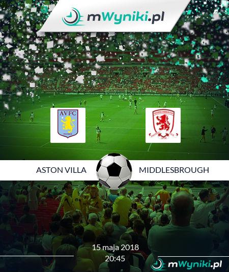Aston Villa - Middlesbrough