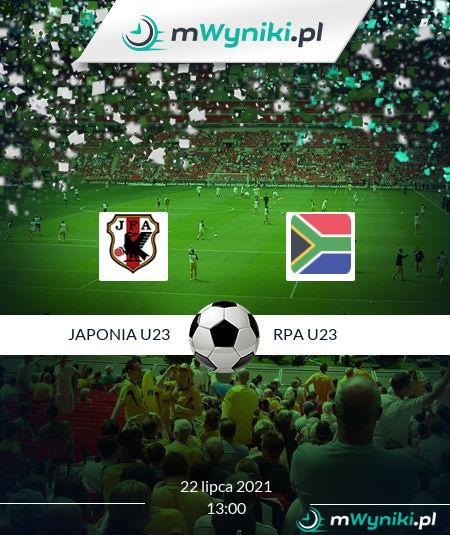 Japonia U23 - RPA U23