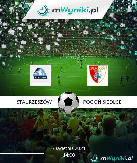 Stal Rzeszów - Pogoń Siedlce