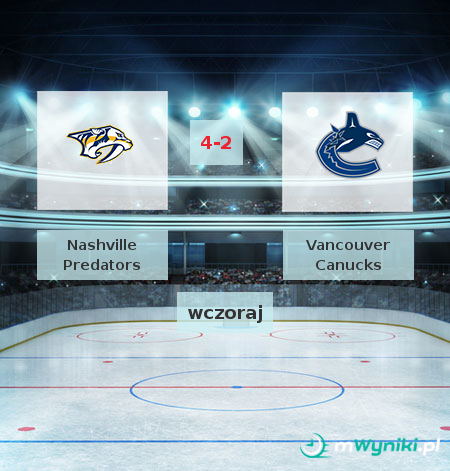 Nashville Predators - Vancouver Canucks