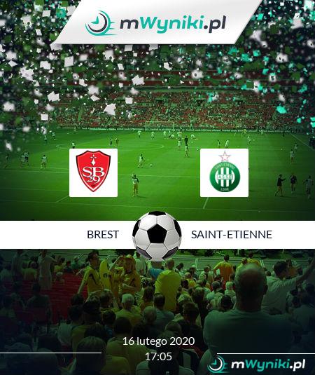 Brest - Saint-Etienne